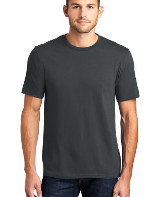 DT6000 District Young Mens Very Important Tee Charcoal