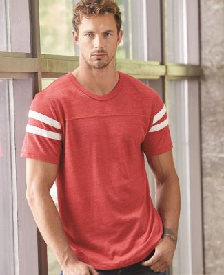 12150E1 Alternative Men's Eco Short-Sleeve Football T-Shirt Catalog