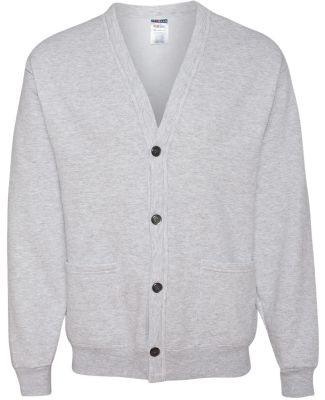 773M JERZEES - 50/50 NuBlend® Cardigan Sweatshirt Ash