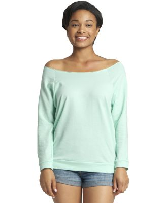 Next Level 6951 Terry Raw-Edge 3/4-Sleeve Raglan  MINT