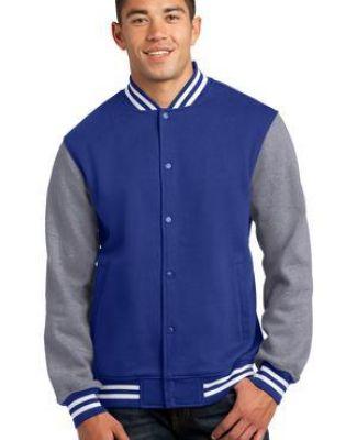 Sport-Tek Fleece Letterman Jacket ST270 Catalog