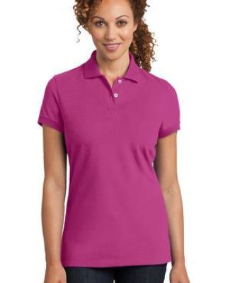 DM425 District Made™ Ladies Stretch Pique Polo Catalog