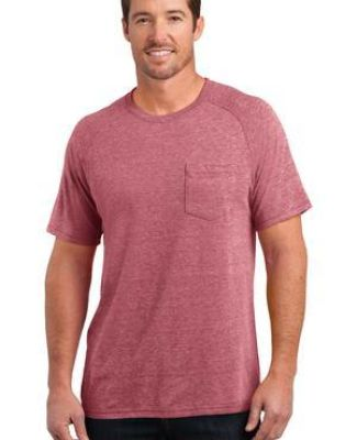 DM340 District Made™ Mens Tri-Blend Pocket Tee Catalog