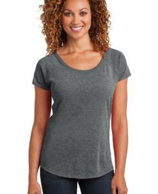 DM443 District Made™ Ladies Tri-Blend Scoop Tee Catalog