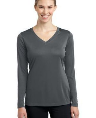 LST353LS Sport-Tek® Ladies Long Sleeve V-Neck Competitor™ Tee Catalog