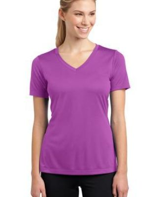 LST353 Sport-Tek® Ladies V-Neck Competitor™ Tee Catalog