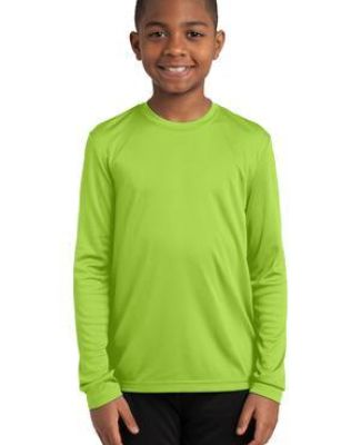 YST350LS Sport-Tek® Youth Long Sleeve Competitor™ Tee Catalog