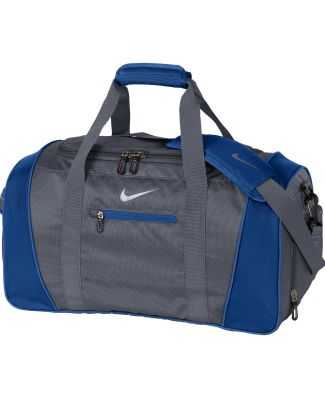 TG0241 Nike Golf Medium Duffel Dk Gry/Mil Blu