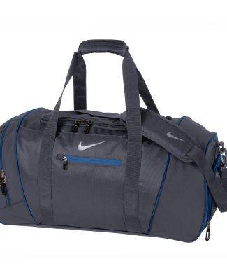 TG0240 Nike Golf Large Duffel Dk Gry/Mil Blu