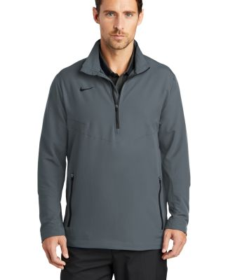 578675 Nike Golf 1/2-Zip Wind Shirt Dk Grey/Black