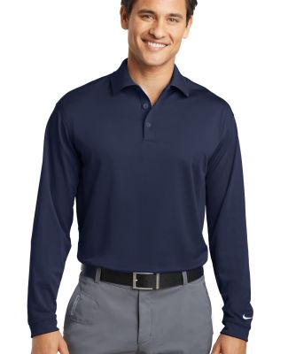 604940 Nike Golf Tall Long Sleeve Dri-FIT Stretch  Midnight Navy