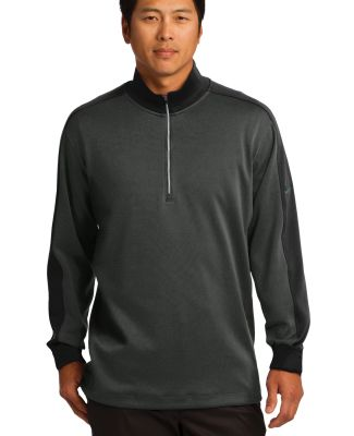 578673 Nike Golf Dri-FIT 1/2-Zip Cover-Up Anth Hthr/Blk