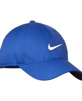 548533 Nike Golf Dri-FIT Swoosh Front Cap Game Royal/Wht