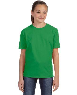 780B Anvil - Youth Midweight Short Sleeve T-Shirt GREEN APPLE