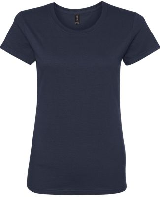 780L Anvil - Ladies' Midweight Short Sleeve T-Shir Navy