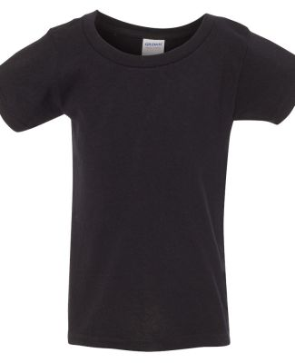 5100P Gildan - Toddler Heavy Cotton T-Shirt BLACK