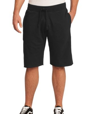 DT195 Young Mens Core Fleece Short  Black