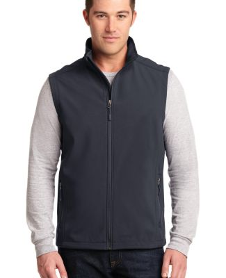 J325 Port Authority® Core Soft Shell Vest Batlshp Grey