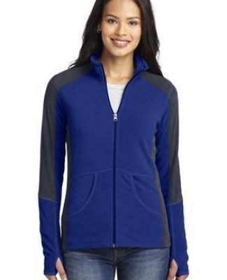L230 Port Authority® Ladies Colorblock Microfleece Jacket Catalog