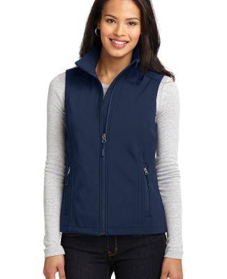L325 Port Authority® Ladies Core Soft Shell Vest Dress Blue Nvy