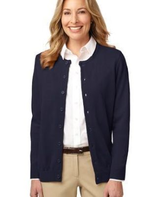 LSW304 Port Authority® Ladies Value Jewel-Neck Cardigan Catalog