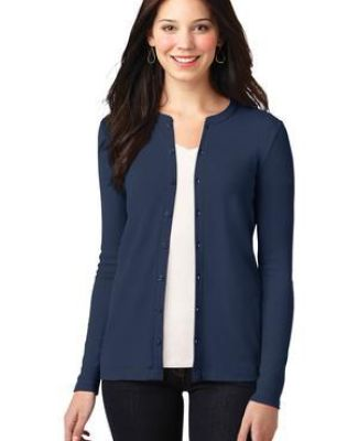 LM1008 Port Authority® Ladies Concept Stretch Button-Front Cardigan Catalog