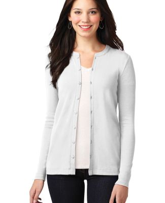 LM1008 Port Authority® Ladies Concept Stretch But White