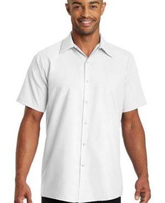 CS26 Red Kap - Short Sleeve Pocketless Gripper Shirt Catalog