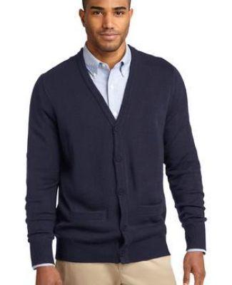 Port Authority Mens Value V-Neck Sweater Vest/_Black/_X-Small SW301