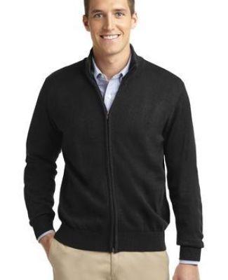 SW303 Port Authority® Value Full-Zip Mock Neck Sweater Catalog