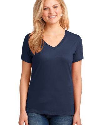 LPC54V Port & Company® Ladies 5.4-oz 100% Cotton  Navy