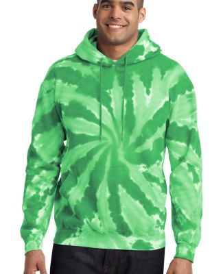 PC146 Port & Company® Essential Tie-Dye Pullover  Kelly