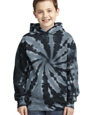 PC146Y Port & Company® Youth Essential Tie-Dye Pu Black