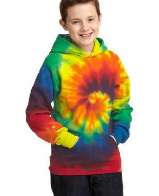 PC146Y Port & Company® Youth Essential Tie-Dye Pullover Hooded Sweatshirt Catalog