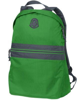 BG202 Port Authority® Nailhead Backpack Shamrk Grn/Smk
