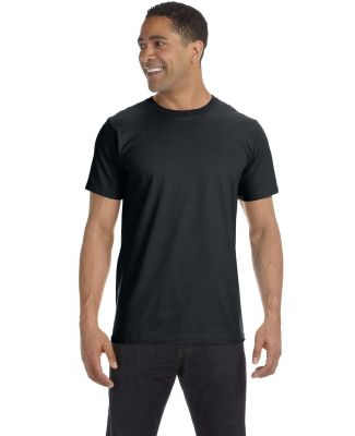 490 Anvil Organic Short Sleeve Fashion Fit Tee Black (Discontinued)