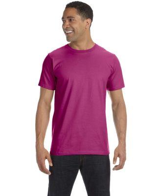 490 Anvil Organic Short Sleeve Fashion Fit Tee RASPBERRY