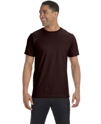 490 Anvil Organic Short Sleeve Fashion Fit Tee CHOCOLATE