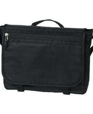 BG301 Port Authority® Nailhead Messenger Nearly Black