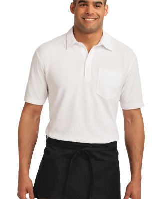 A702 Port Authority® Easy Care Waist Apron with S Black