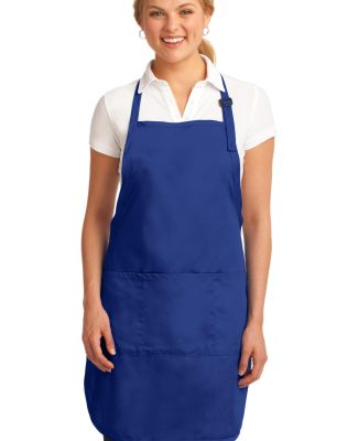 A703 Port Authority® Easy Care Full-Length Apron  Royal