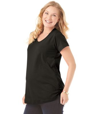 3509 LAT Ladies Fine Jersey Scoopneck Maternity Top Catalog