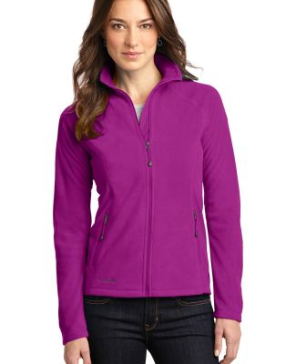 EB225 Eddie Bauer® Ladies Full-Zip Microfleece Ja Deep Magenta