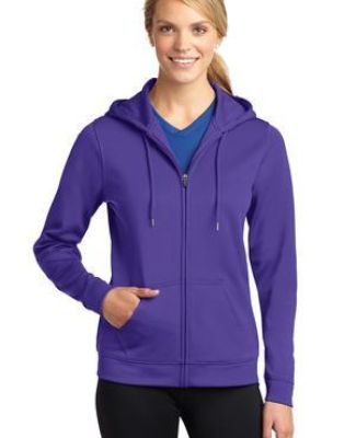 LST238 Sport-Tek® Ladies Sport-Wick® Fleece Full-Zip Hooded Jacket Catalog