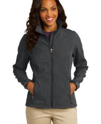 EB533 Eddie Bauer® Ladies Shaded Crosshatch Soft Shell Jacket Catalog