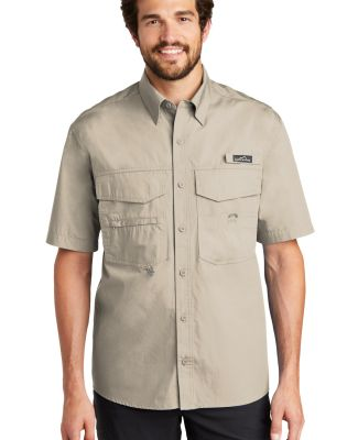 EB608 Eddie Bauer® - Short Sleeve Fishing Shirt Driftwood