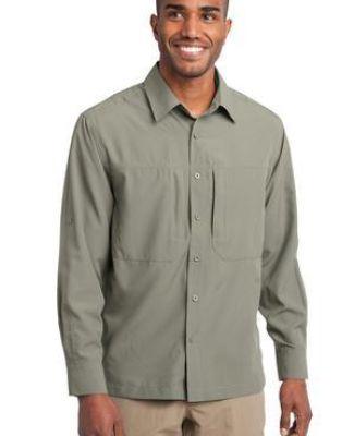 EB604 Eddie Bauer® - Long Sleeve Performance Travel Shirt Catalog