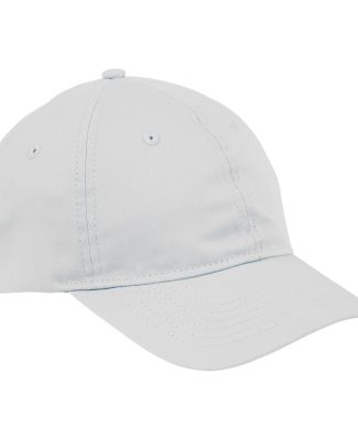Big Accessories BX880 6-Panel Unstructured Hat WHITE