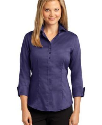 RH69 Red House® Ladies 3/4-Sleeve Nailhead Non-Iron Button-Down Shirt Catalog