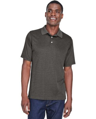 DG210 Devon & Jones Men's Pima-Tech™ Jet Pique H DK GREY HEATHER